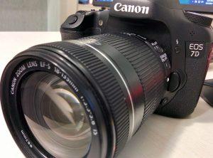 Canon 7d Spiegelreflexkamera im Test