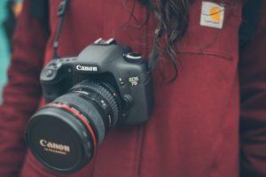 canon-Spiegelreflexkamera